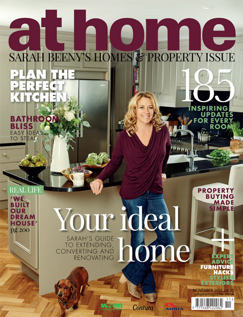 image: Juliet Balcony Centre featured in 'at home' Magazine