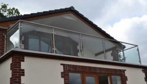 Franklyn balustrade at Forest Park Lodges