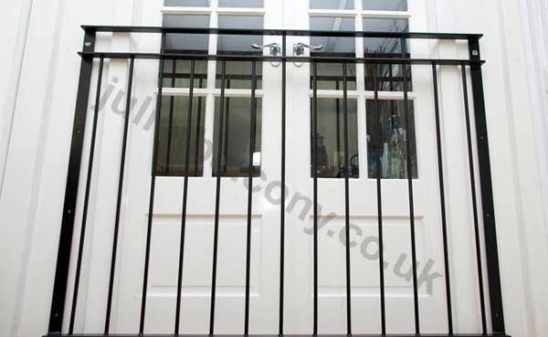 photo: 'Vantage' juliet balcony railing