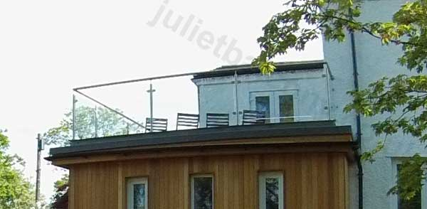 Flat Roof Balcony Or Balustrade Made Simple