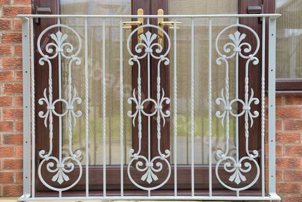 Heritage Juliet Balcony In A European Style Hand Forged