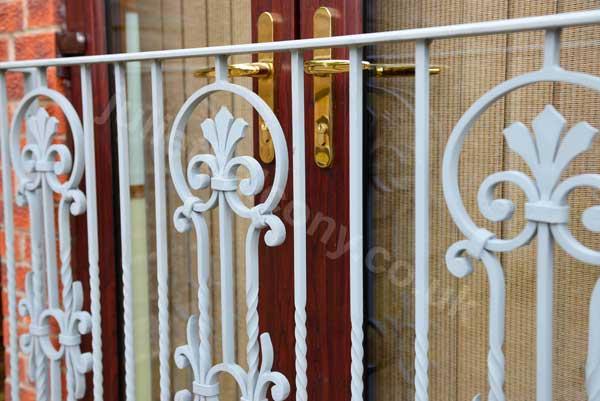 photo: European style juliet balcony