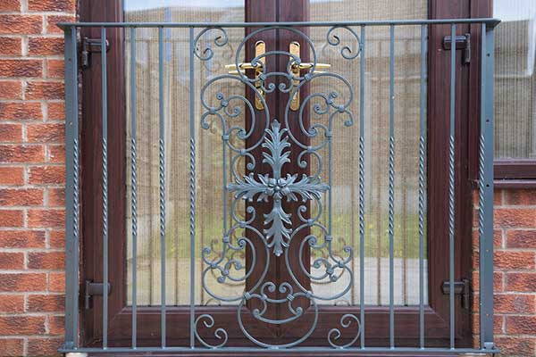 39 parisian 39 style french balcony hand forged steel for French juliet balcony