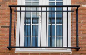 Bently Steel Juliet Balcony