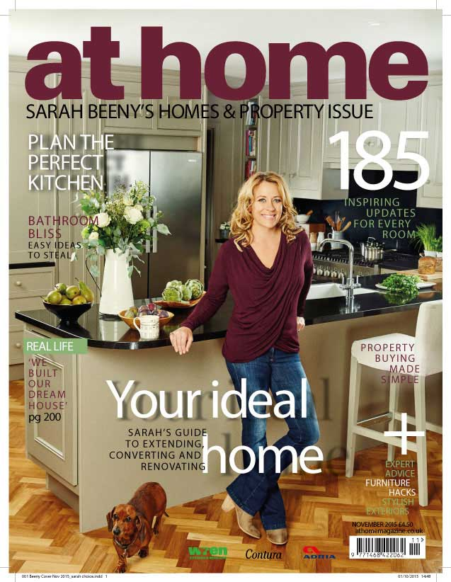 Juliet Balcony Centre in Sarah Beeny at home  magazine