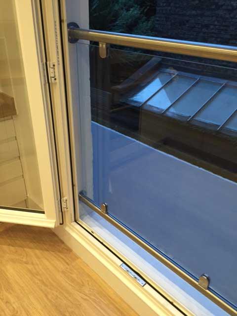 photo: glass juliette balcony - inside reveal