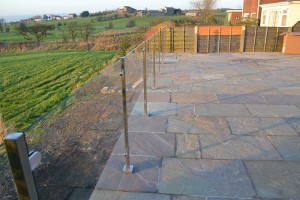 Square Post Glass Balustrade 7