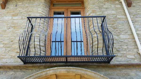 photo: Sorrento balcony photo sent in by Kathy of Windrush Homes Ltd based in Witney Oxfordshire.