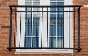 Juliet Balcony Centre Steel Glass Balconies And Balustrades