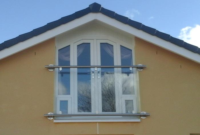 Franklyn glass balcony South Lanarkshire