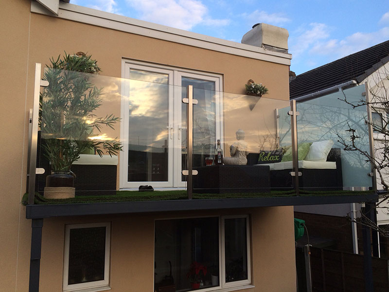 Large platform balconies direct from our workshop for Balconies or balconies